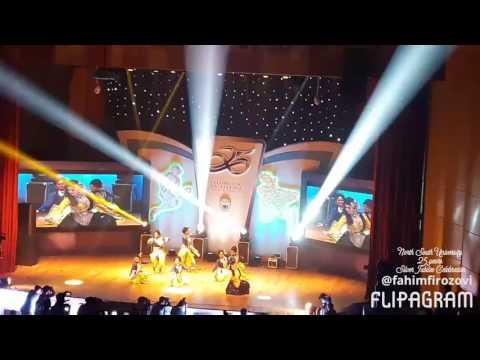 Best Performance by Sadia Islam Mou in Nsu 25 years silver jubilee celebration.
