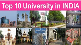 TOP 10 UNIVERSITY IN INDIA 2020