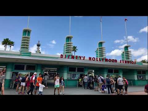 Disney's Hollywood Studios 2018 Entrance Loop (Big Band)