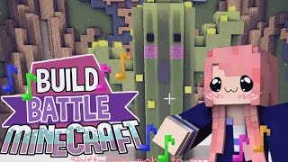 Kawaii Cactus & A Poodle! | Build Battle | Minecraft Building Minigame