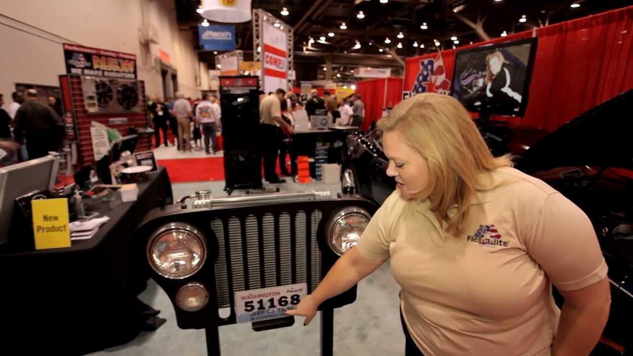 Jeep Cj7 Flex A Lite Aluminum Radiator With Electric Fan