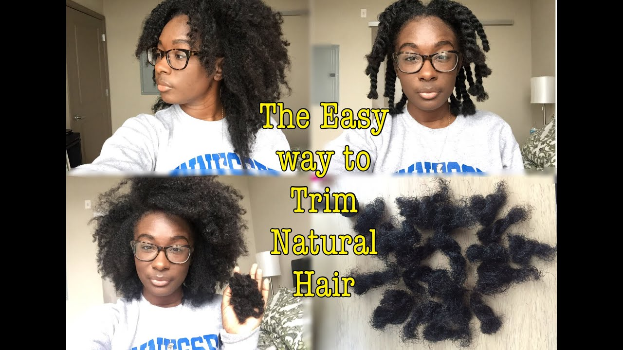 You Don T Need To Trim Your Natural Hair