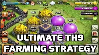 Ultimate TH9 Farming Strategy Post Update (The New TH Sniping) | Mister Clash | Clash of Clans
