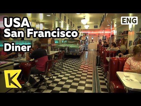 【K】USA Travel-San Francisco[미국 여행-샌프란시스코]미국 전통 레스토랑 다이너/Diner/California/Restaurant