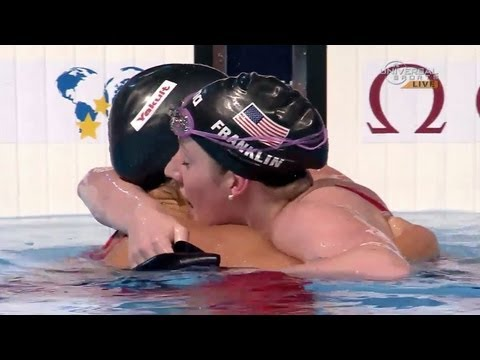 Missy Franklin wins 100m Backstroke world title - Universal Sports