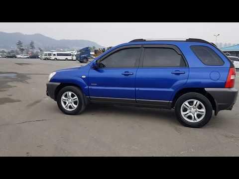 (048440) KIA SPORTAGE 4X4 DRIVE 2005 YEAR