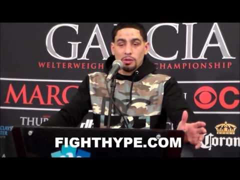 DANNY GARCIA RATES KEITH THURMAN'S POWER; ANALYZES PERFORMANCE IN LOSS
