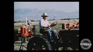 1950's Classic Tractor Film Cutting Hay In Northern Nevada - The Haying Season