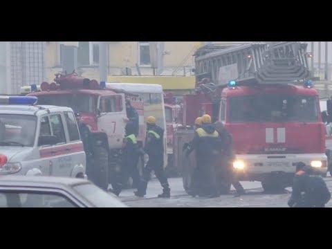 Кемерово. хроника 25 марта 2018 пожар в ТРЦ 'Зимняя вишня'