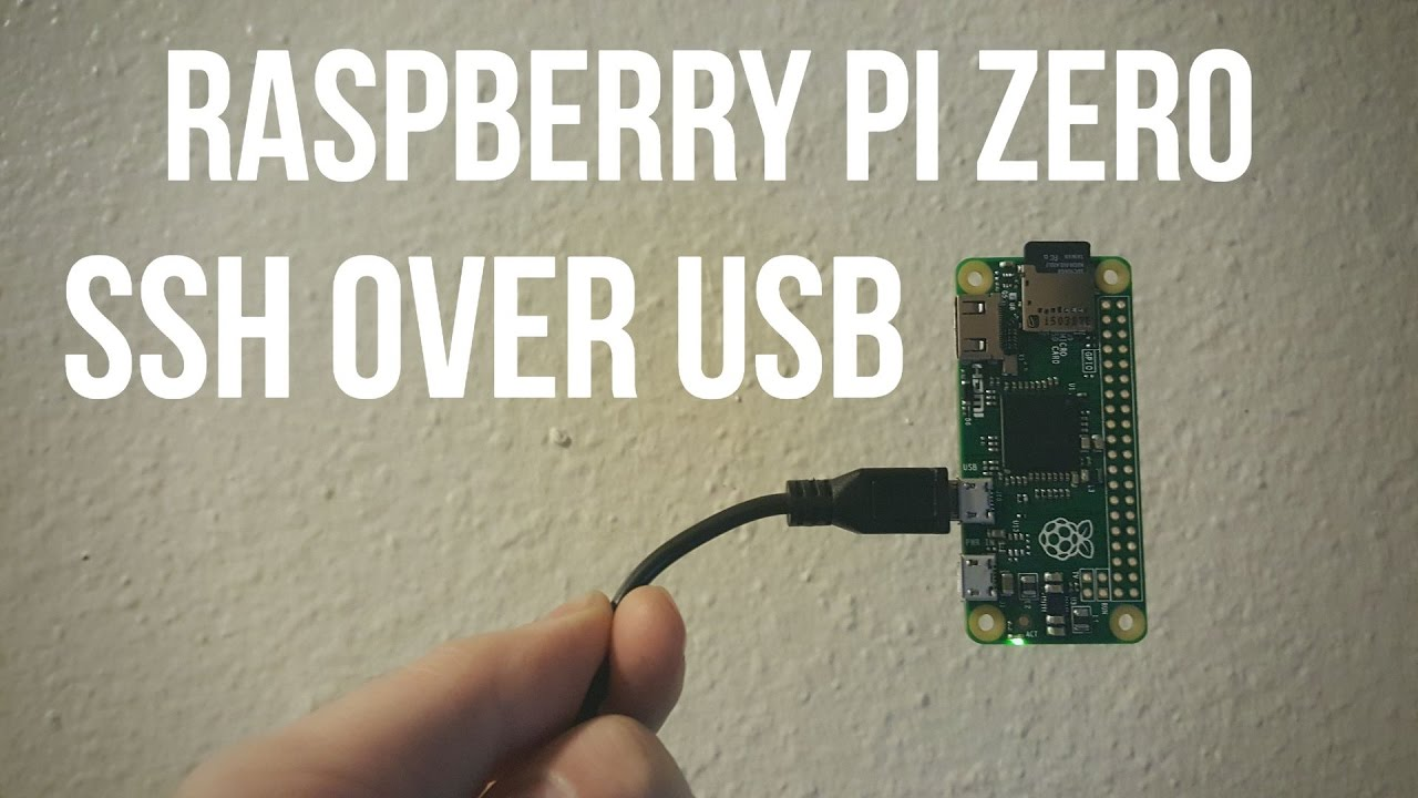 RPi Zero - Working SSH over USB Tutorial for Mac OS X and Raspbian Jessie  Lite (OTG Mode)