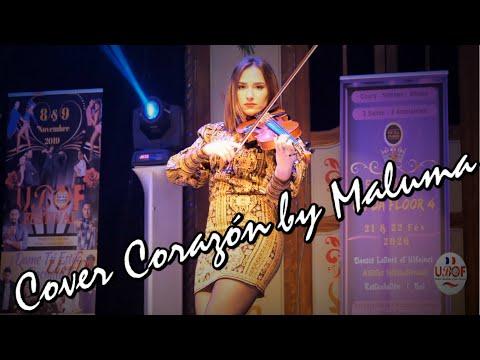 Sandra Sierra - (Cover) Music: Corazón By Maluma - UBOF Festival