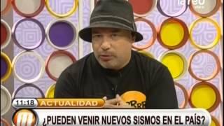 Aroldo Maciel habla sobre el sismo de Ca...