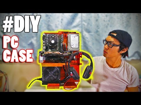 PC CASE na KAHOY | DIY