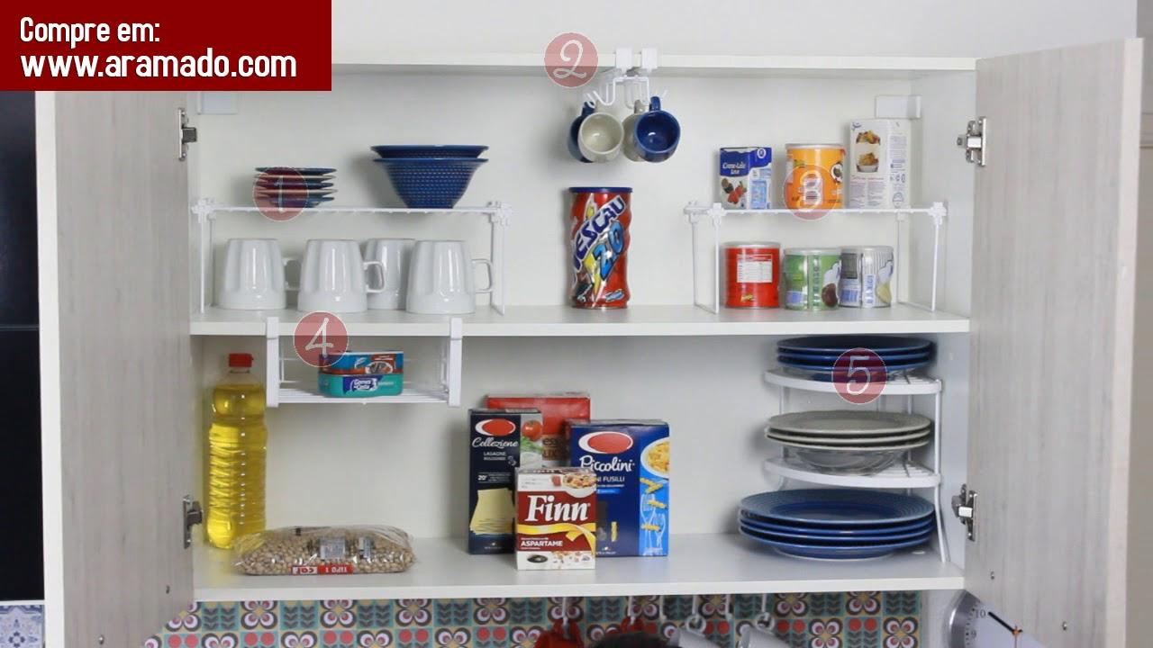 1000 produtos e dicas para organizar sua casa 120 combo - Organizadores de armarios ...