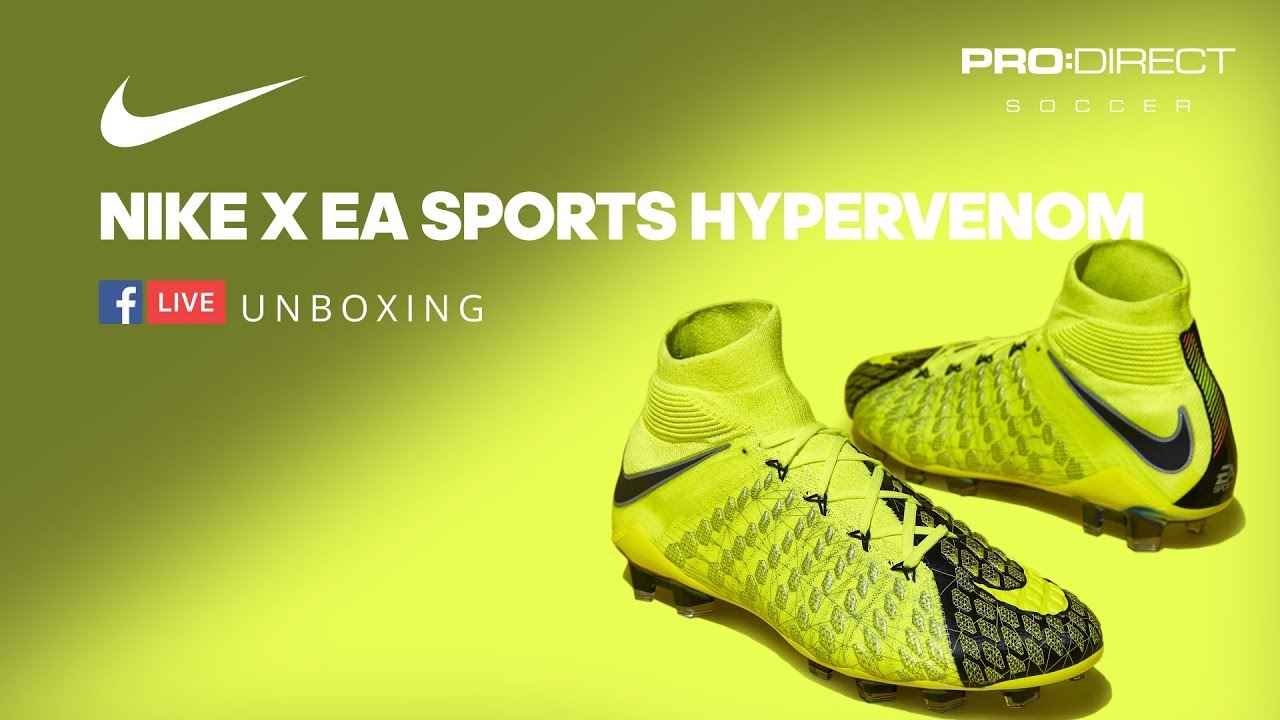super popular 9b42e c1fef Unboxing: Nike X EA Sports Hypervenom
