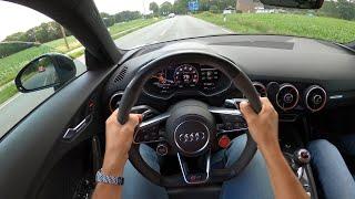 660HP Audi TT RS [STAGE 4] 305 km/h ON AUTOBAHN!