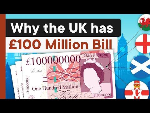 Scottish Bill Problem: Why the UK has £100 Million Notes