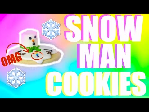 Melting Snowman Co Es Holiday Baking With Ana