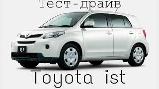 Jorick davidich- тест-драйв toyota ist (2007)