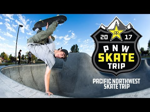 Rockstar Pacific Northwest Skate Trip | Episode 1