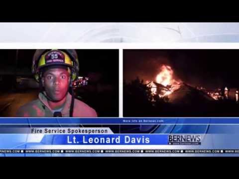 Structural Fire On Cedar Avenue, Oct 17 2013