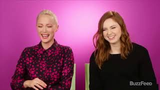 Best Karen Gillan and Pom Klementieff Moments