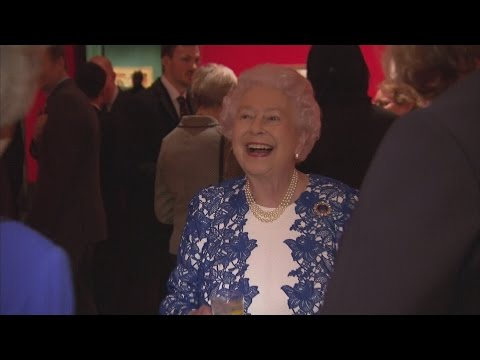 The Queen hosts reception for female civil servants