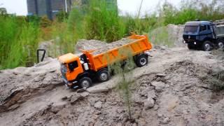 RC CONSTRUCKTION l RC TIPPER 8X8 l RC ROADWORKER l LESU MODELS l