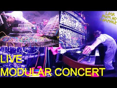 Look Mum No Computer LIVE LONDON XOYO #Modular #Synth SHOW  #360video