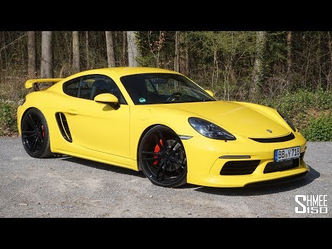 THIS or a Porsche GT4? TechArt 718 Cayman