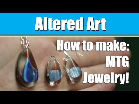 How to Make - MTG Jewelry!