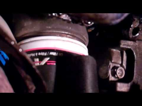 How to change oil in a 2002 Mazda MPV