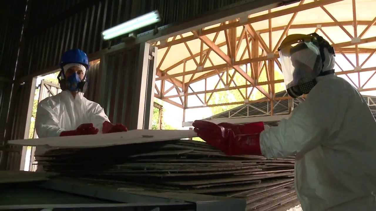 Treatment of asbestos waste - Yunirisk (ENG)