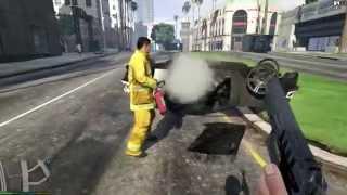 GTA V - First Person Carmageddon Mod!