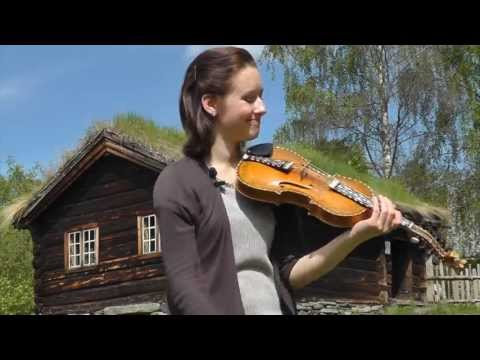 "Ragnhild Hemsing plays the Hardanger fiddle - ""Valdresguten"" - Halling dance."