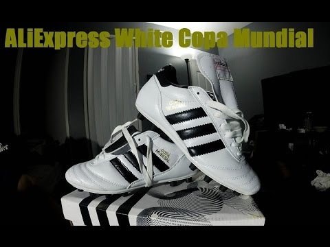 AliExpress White Adidas Copa Mundial Unboxing