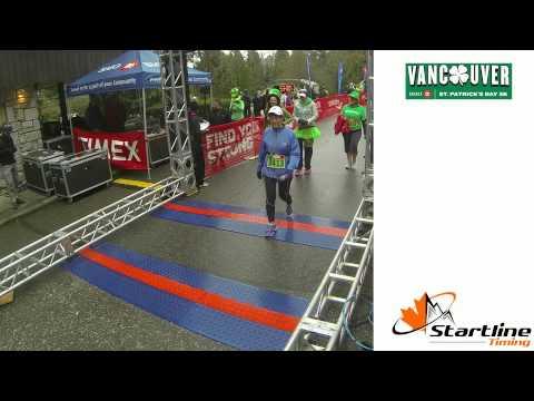 2014 St Patrick's Run - Stanley Park, Vancouver, BC