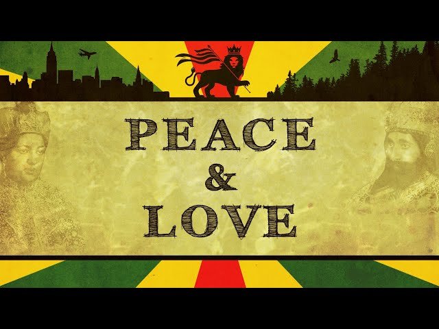 Peace & Love ('70s '80s Roots Reggae Vinyl)