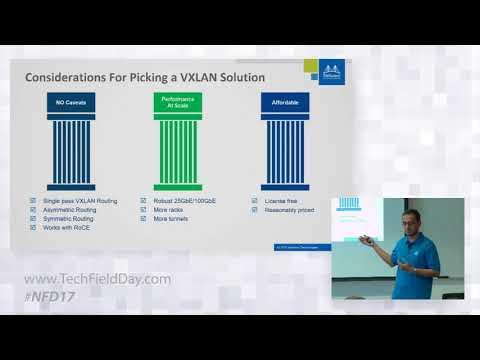 Mellanox Spectrum EVPN VXLAN Differentiators with Amit Katz