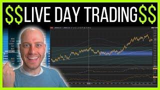 Live Day Trading. Bitcoin, Treasuries Futures, Stock Market. 11 Sept 2019