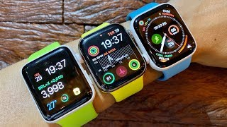 Apple Watch Series 5, 4 e 3 | Comparativo