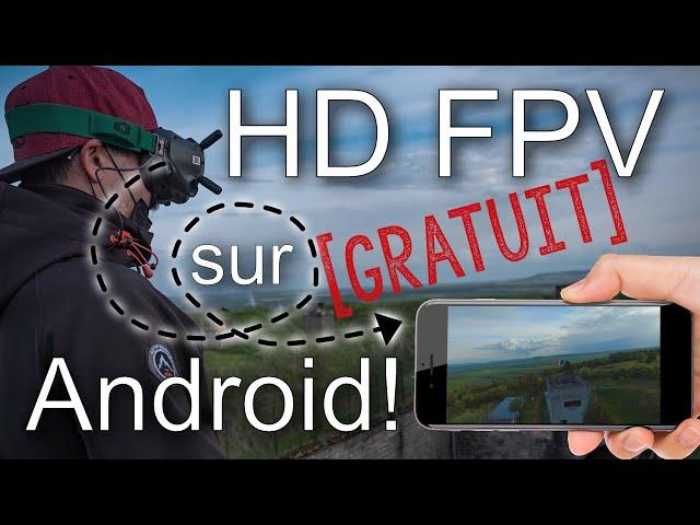 Tuto | DJI HD FPV out sur android ! Bonne nouvelle, c'est gratuit !