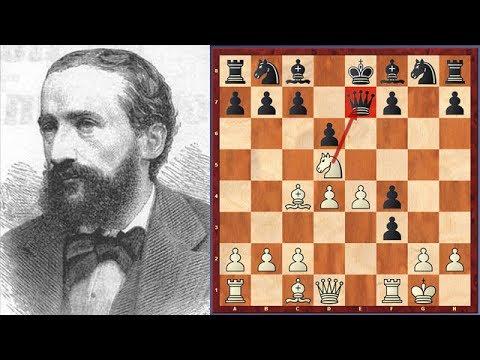 Thrilling Game! Johannes Zukertort vs Adolf Anderssen