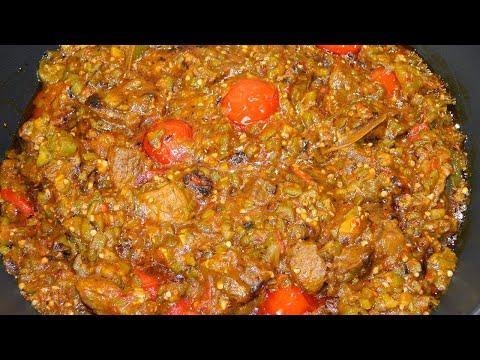 #gombogrillé-gombo-grillé-recette-haïtienne-#-57-/-grilled-okra-haitian-recipe🍽😊