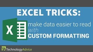 Excel Tricks - Make Your Data Easier to Read with Custom Formatting