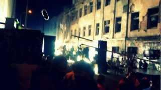 Съемка клипа группы Звери в Одессе