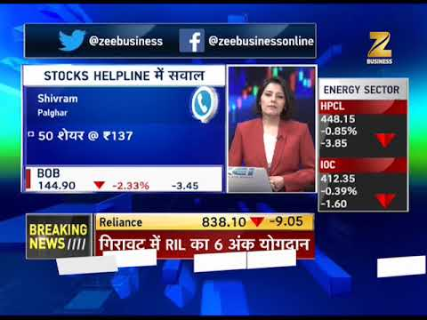 Stocks Helpline: HDFC Bank, Reliance, ITC dragging stock index down today