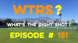 """Approach Shot Tennis Doubles Strategy - """"What's The Right Shot?"""" #151"""