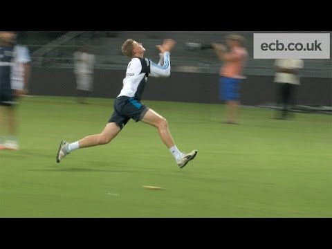England Cricket Training Session In Sri Lanka - High Catches