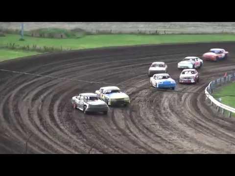 IMCA Stock Car Heat Farley Speedway 7/15/16
